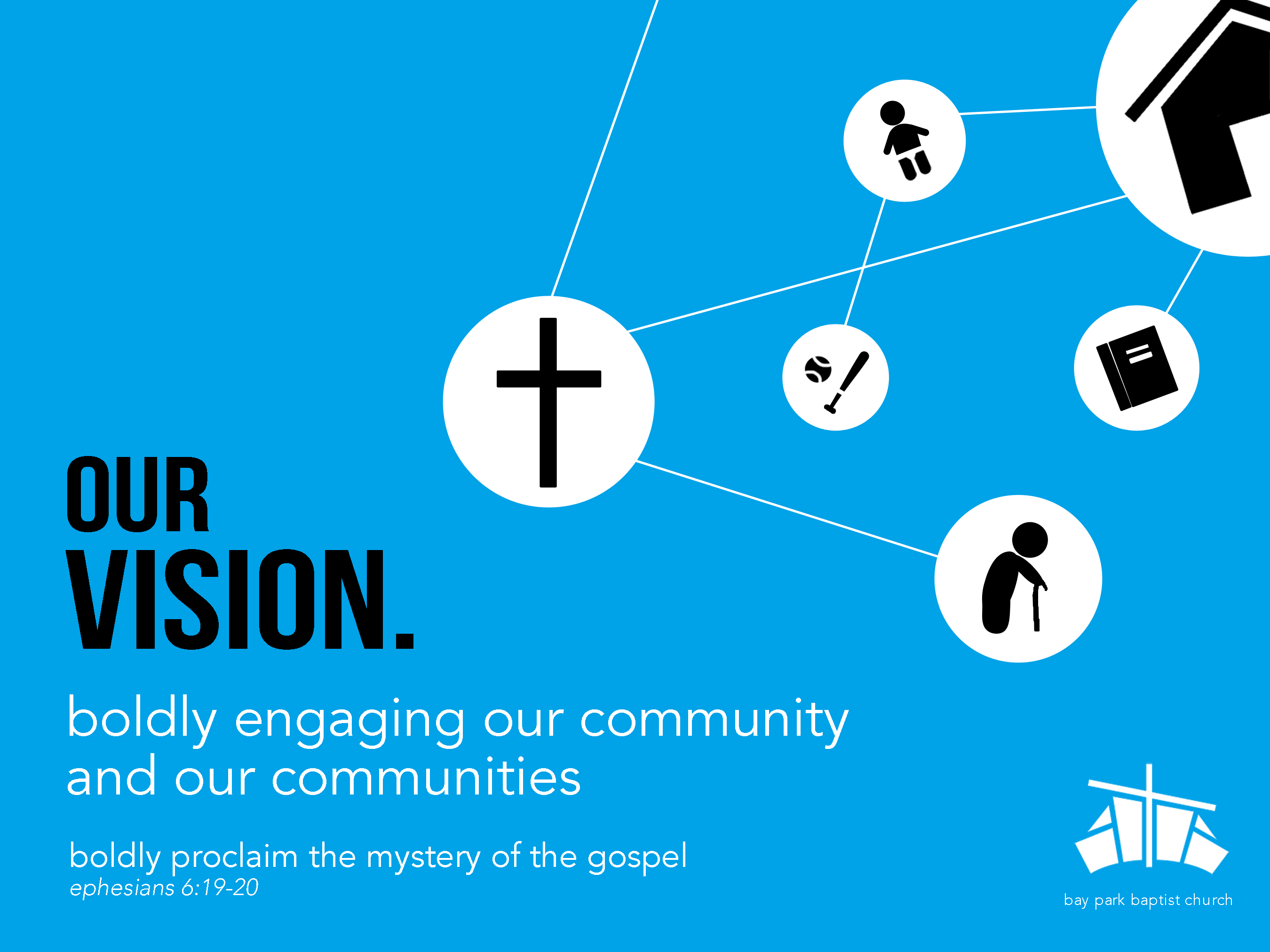 Vision poster images diagram writing sample ideas and guide bay park baptist church our vision minimal vision poster portrait freerunsca images sciox Images